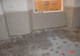Impermeabilizzazioni - Sistema rigido a base cementizia dopo