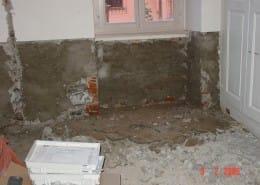 Impermeabilizzazioni - Sistema rigido a base cementizia prima